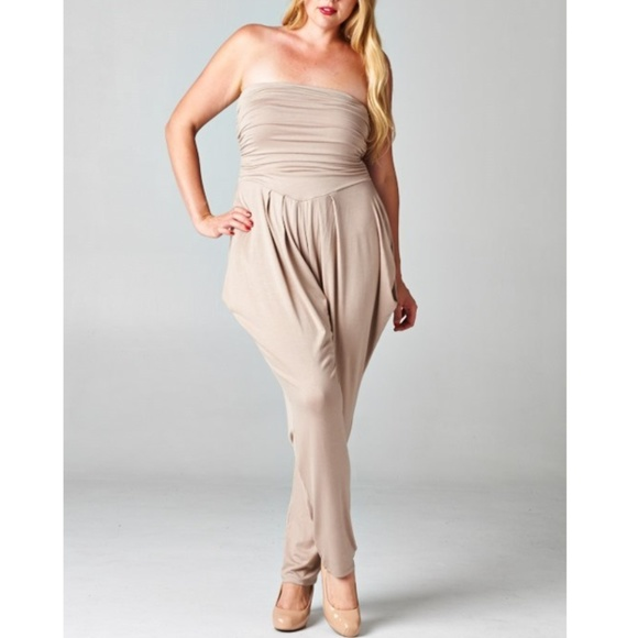 401a79b1f7c New! Nude Strapless Harem Jumpsuit. Boutique.  27  59. Size. S